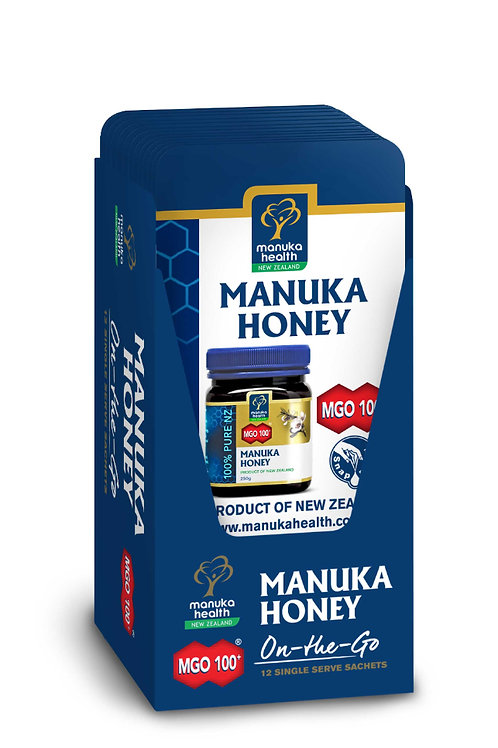 MGO 100+ Pure Manuka Honey - Snap Pack - 5G - Singles