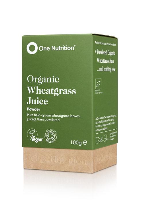 Organic Wheatgrass Juice - 100g Powder - VEGAN