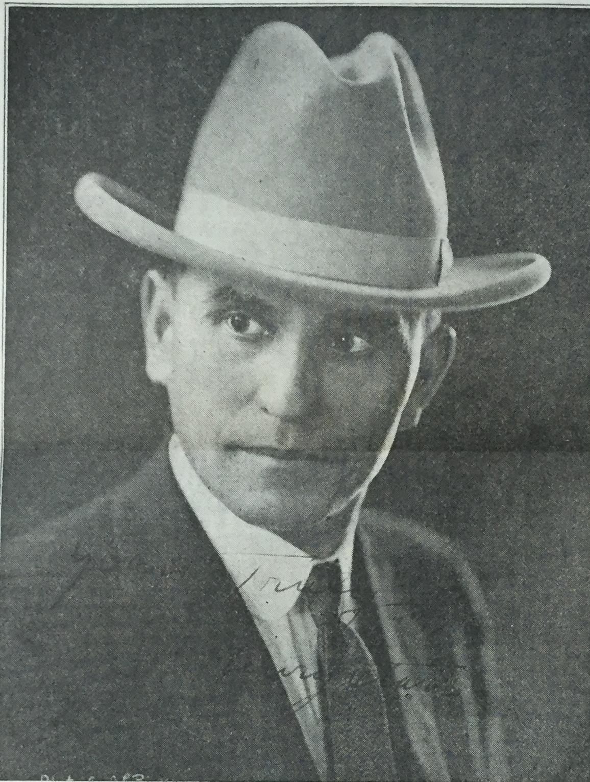 Henry Starr headshot