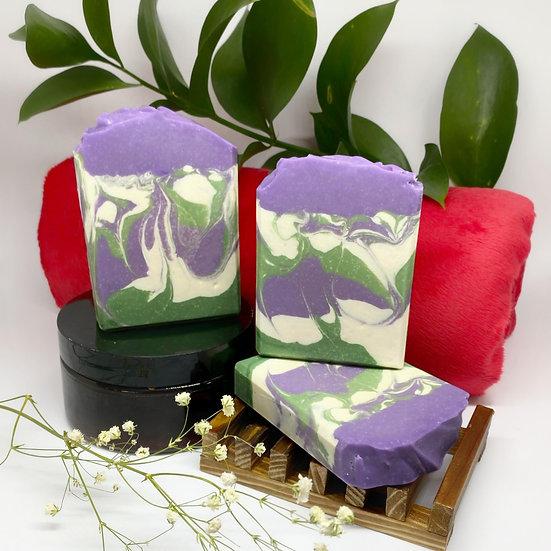 Lilac Goat Body Bar Soap