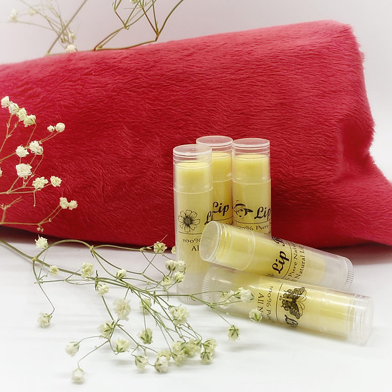All Natural Lip Balm with Peppermint - 1 Stick
