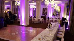 uplighting wedding venue
