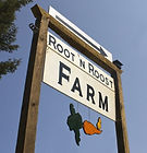 Root 'N Roost Farm - Sign