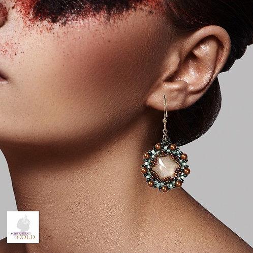 Düsseldorf Schwesterngold Designer Ohrringe Modeschmuck