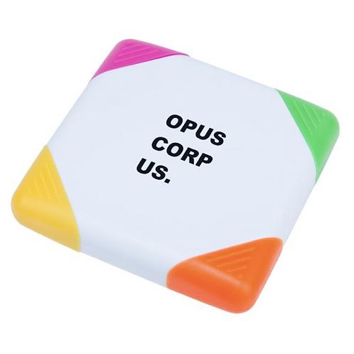 Surligneur 4 couleurs OPUS CORPUS