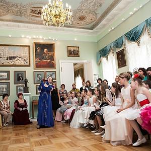 Выпускной начальной школы в Музее Л.Н. Толстого