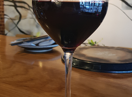 Rant...Mushy Peas and Wine Glasses