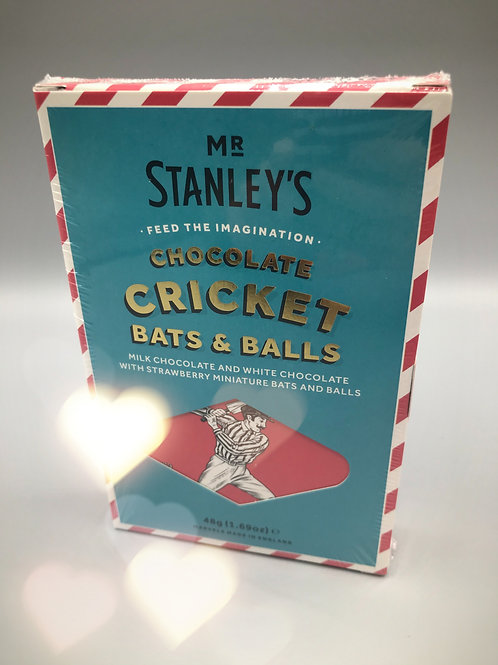 Mr Stanley's Chocolate Cricket Bats & Balls