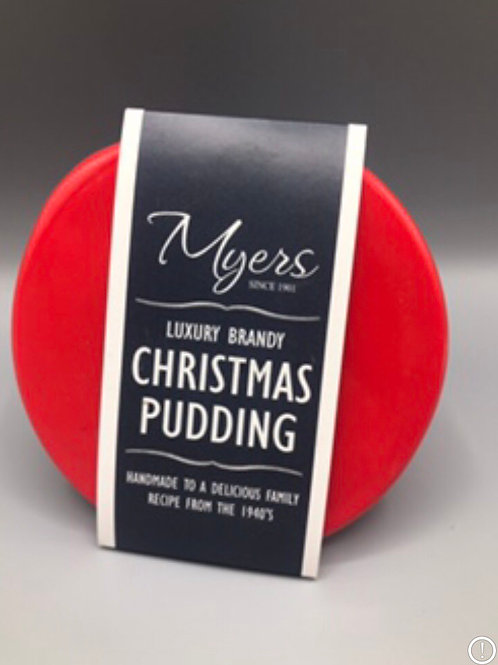 Luxury Brandy Christmas Puddings