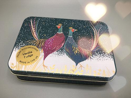 Vanilla Fudge Pheasant Gift Tin