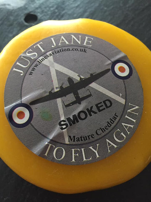 Just Jane Smoked Mature Cheddar Truckle