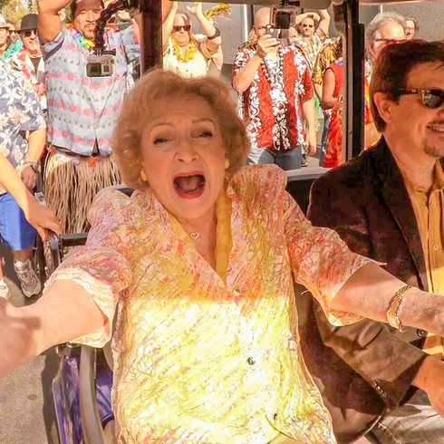 Betty White's Birthday Flash Mob