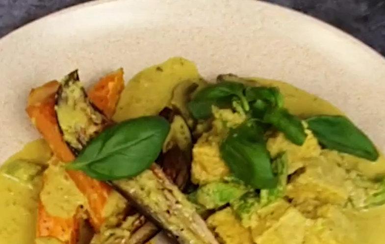 Recipe for vegetarian food
