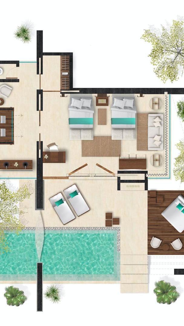 Casita Floor Plan