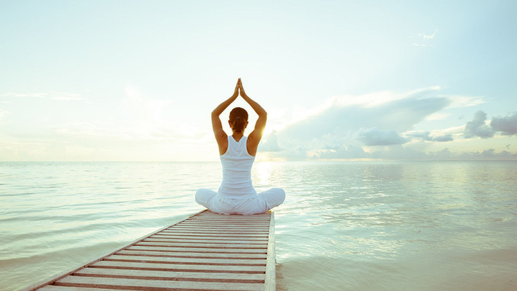 Almar Jesolo sunrise yoga