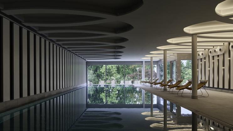 Chenot Palace Weggis - Indoor Pool