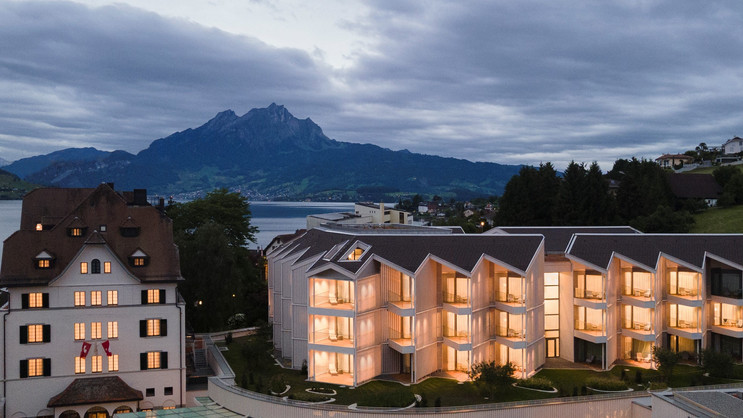 Chenot Palace Weggis, Switzerland