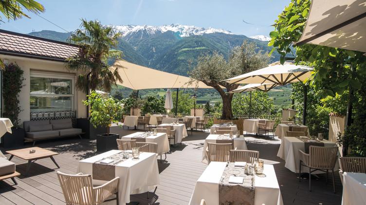 Dolce Vita Hotel Preidlhof - Mediterranean Terrrace