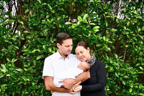 First born son ~ beautiful family 💙 Tha