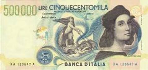 Italian lira (euro), Italy
