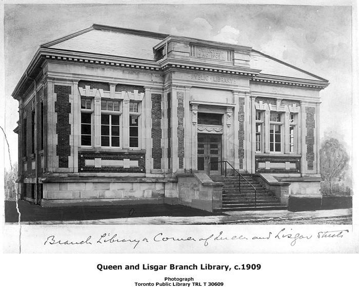 Portia's favourite library in Toronto