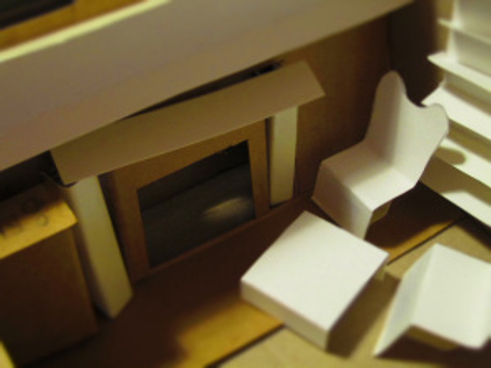 Diorama image 2: The Fireplace