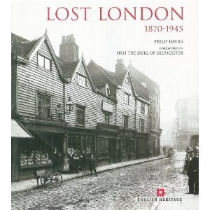 """Cover of """"Lost London"""" by Philip Davies"""