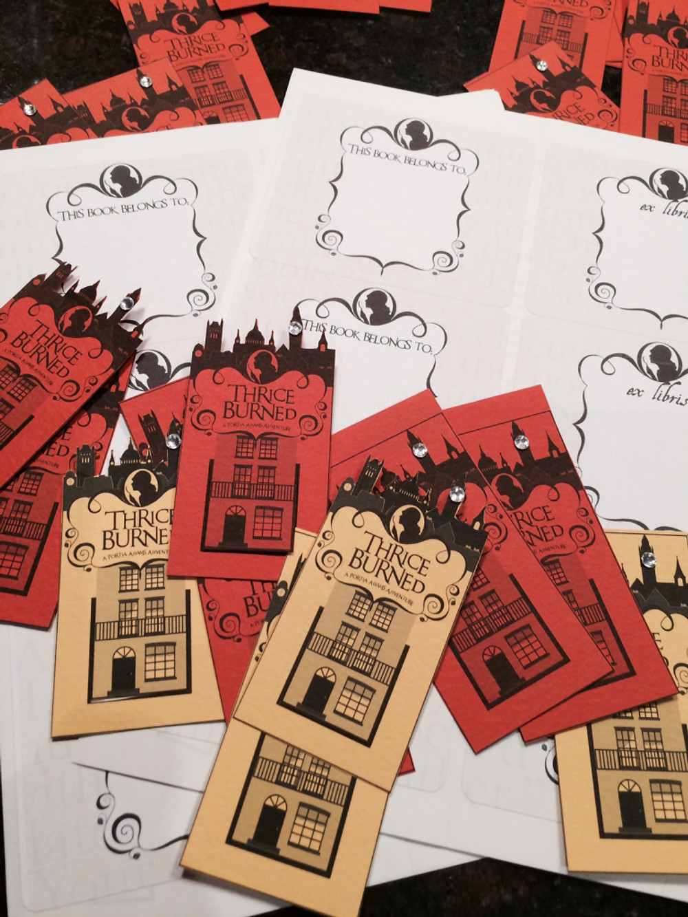 Bookplates and Bookmarks!