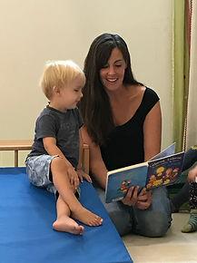 Betreuerin mit Kind