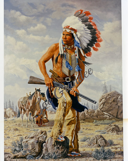 Low Dog - Famous Sioux Indian War Chief