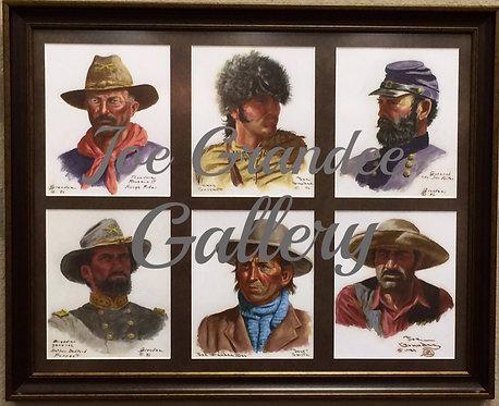 Set of 6 Portraits - Collectors Edition