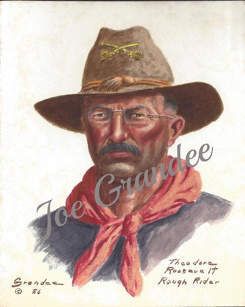 Theodore Roosevelt Rough Rider