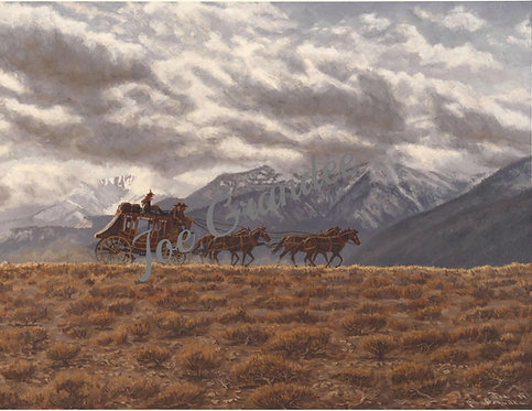 Old Stagecoach Road to Leadville