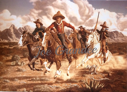 TX Rangers on the Border After Outlaws...