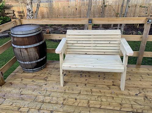 Deluxe Garden Bench/Memorial Bench