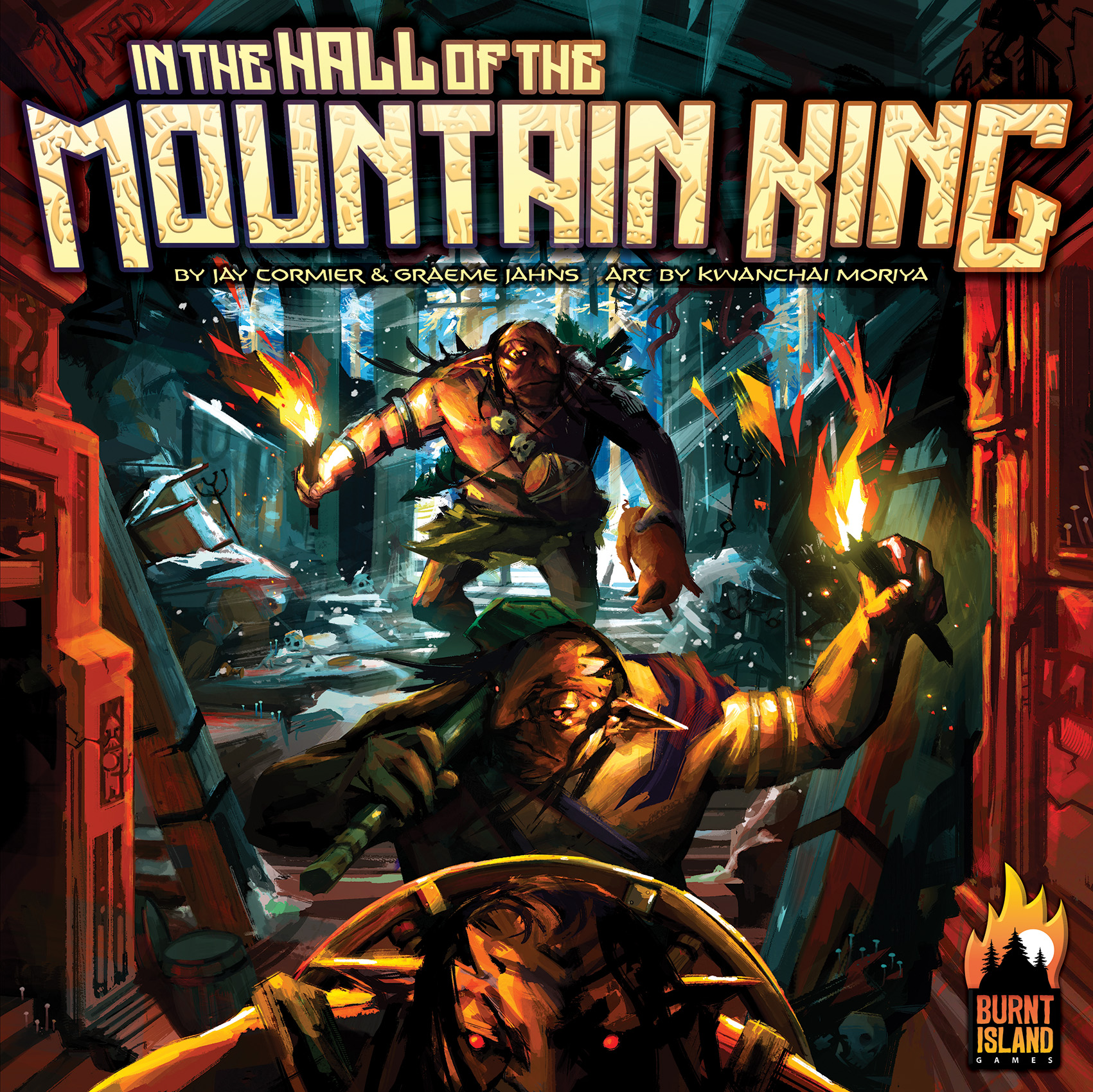 In the Hall of the Mountain King -  KTBG Burnt Island Game