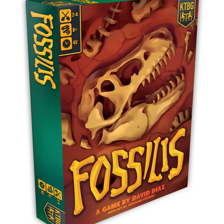 Our next game revealed: Fossilis!