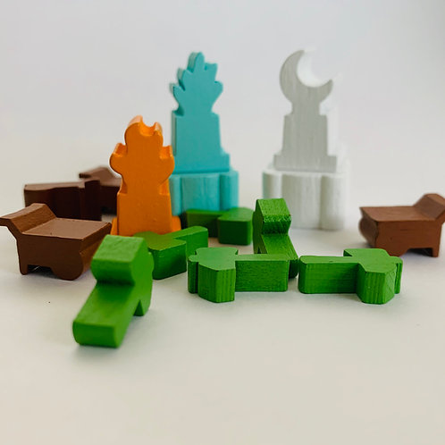 In the Hall of the Mountain King Wooden Bits $8.50USD
