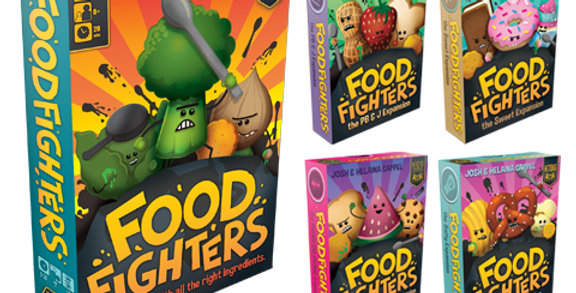 Foodfighters and 4 Expansion Factions $48US