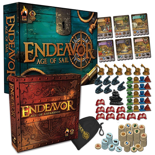 Endeavor: Age of Sail/Expansion DELUXE Bundle $149USD