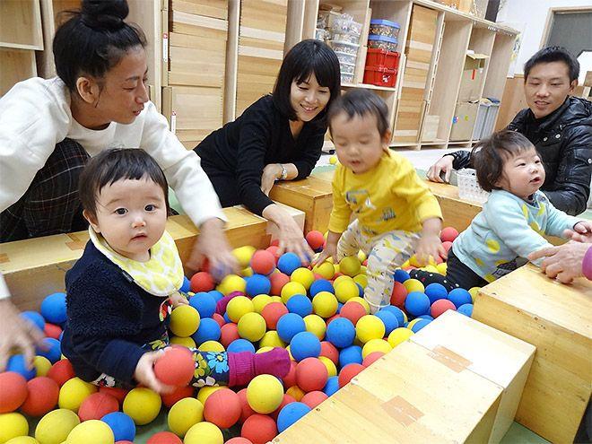 和久洋三のわくわく創造アトリエ 吉祥寺プレイルームの赤ちゃんクラス