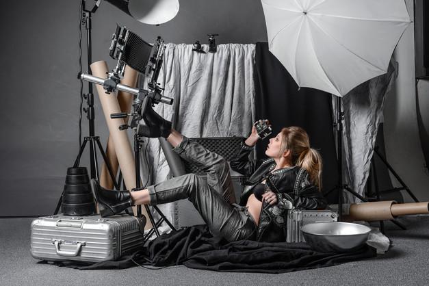 Sarah Dudek, Fashion Shooting Frankfurt.