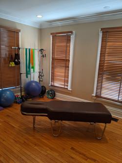 Rehab & Chiropractic Room