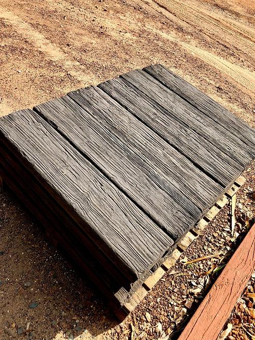 Wood Grain Sleepers Half Length