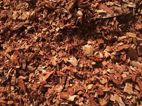 Pure Woodchip Mahogany Mulch
