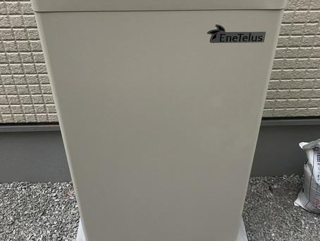 田淵電機7.04kWh蓄電池 設置工事完了しました
