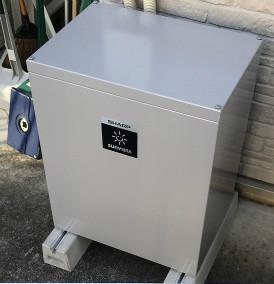 横浜市T様:【シャープ】4.2kWh蓄電池