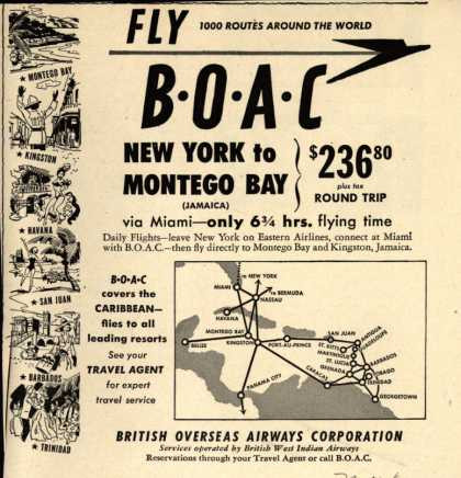 Vacation Ad, Circa 1950
