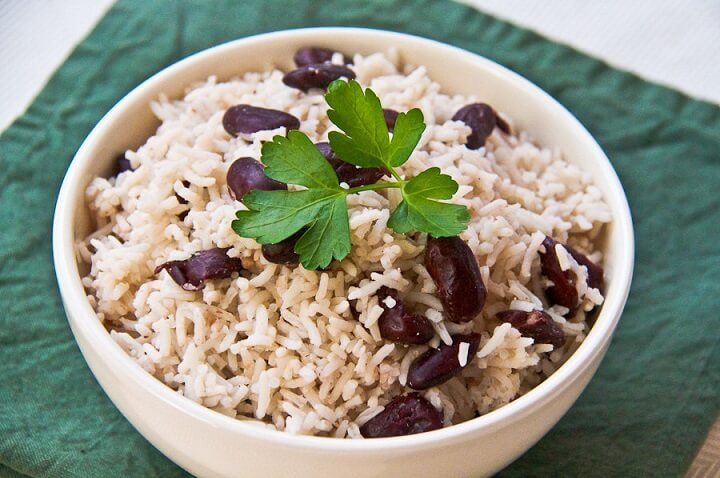 Traditional Rice and Peas