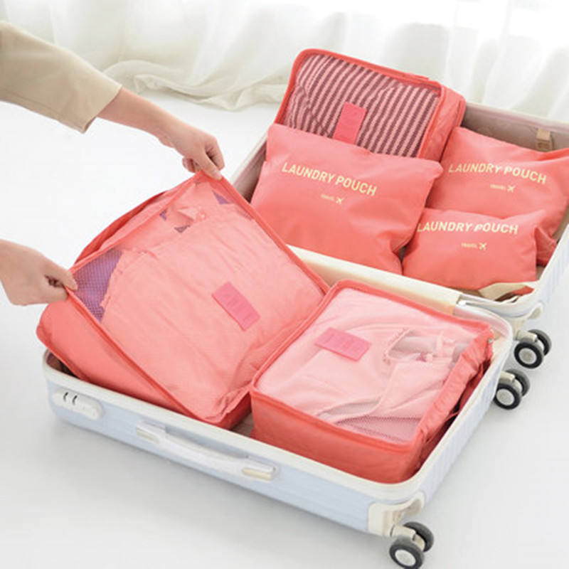 Packing cubes help you organize your suitcase and save space